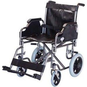 Αναπηρικό Αμαξίδιο με Μεσαίους Τροχούς, Αφαιρούμενα Πλαϊνά και Υποπόδια - 0806778