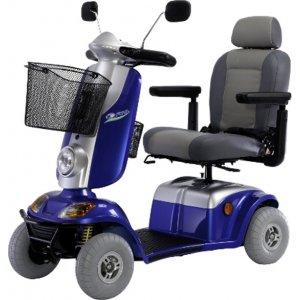Ηλεκτροκίνητο Αμαξίδιο - Scooter Kymco Midi XL - Μπλε - Σε 12 άτοκες δόσεις