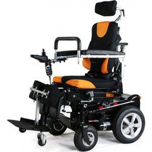 Ηλεκτροκίνητο Αμαξίδιο - Ορθοστάτης Mobility Power Chair VT61035 - Σε 12 άτοκες δόσεις