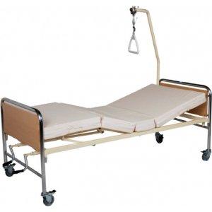 Νοσοκομειακό Κρεβάτι Πολύσπαστο Χειροκίνητο KN 200.3 Econ Chromium - Σε 12 άτοκες δόσεις