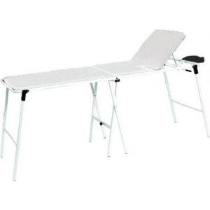 Εξεταστικό Κρεβάτι Μεταλλικό Πτυσσόμενο με Ανάκλιση Πλάτης - 172x61x74cm - 0808881