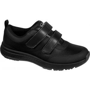Ανατομικό Δερμάτινο Sneaker Scholl Energy Plus Strap BK