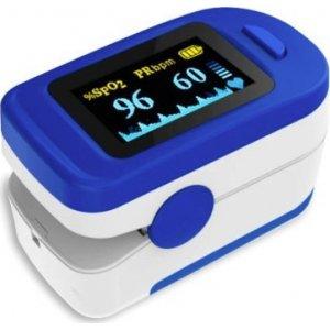 Παλμικό Οξύμετρο Δακτύλου Για Μέτρηση Οξυγόνου και Καρδιακών Παλμών FS20C