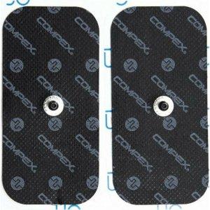 Ηλεκτρόδια Easy Snap Αποκλειστικά για Συσκευές Compex 5x10cm - Μονό Κούμπωμα - 42222