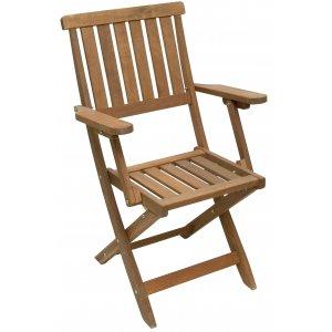 Καρέκλα Πτυσσόμενη με Μπράτσα - W42xD38xH87cm