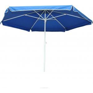 Ομπρέλα Θαλάσσης Ημιεπαγγελματική 2,50m με Μεταλλικό Ιστό