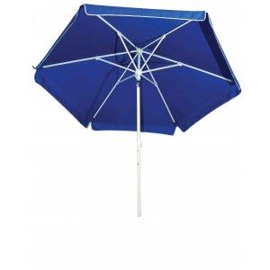 Ομπρέλα Βεράντας - Κήπου - Θαλάσσης 2m - Ενισχυμένη με Ελαστική Ακτίνα και Μεταλλικό Ιστό