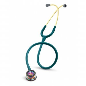 Στηθοσκόπιο 3M™ Littmann® Classic II Pediatric Rainbow-finish Caribbean Blue 2153