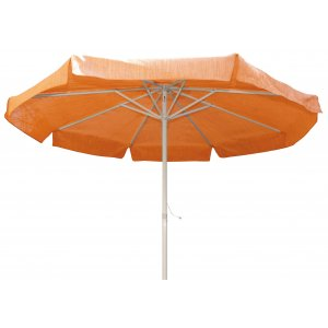 Ομπρέλα 2,40m με Ιστό Αλουμινίου με Ραβδώσεις