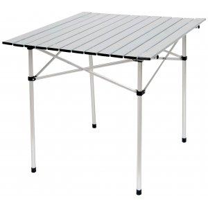 Τραπέζι Πτυσσόμενο Αλουμινίου σε Θήκη - L70xW70xH70cm