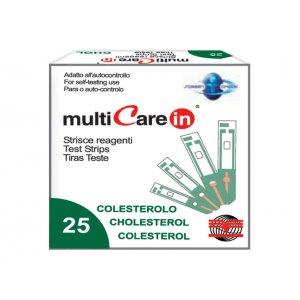 MultiCare In ταινίες μέτρησης Χοληστερίνης 25τμχ