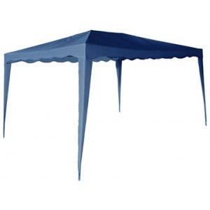 Κιόσκι Κήπου Μπλε Polyester 140gr - Π300xΜ400xΥ200/250cm