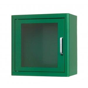 Κουτί επιτοίχιο μεταλλικό φύλαξης απινιδωτή χωρίς συναγερμό ARKY - Πράσινο