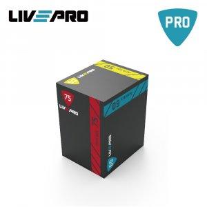3 σε 1 Πλειομετρικό Κουτί Pro Duty (Plyo Box) Β-8155