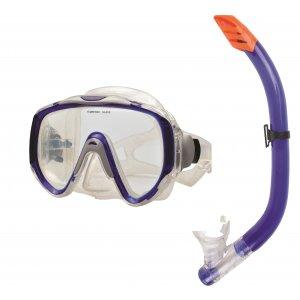Σετ Μάσκα & Αναπνευστήρας PVC Μπλε - 274-2388