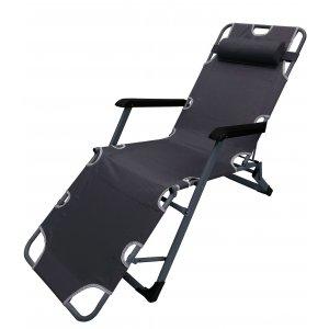 Πολυθρόνα - Ξαπλώστρα - 97x14.50x66εκ. - Μεταλλική PP με Επένδυση - Με Extra Στρώμα Πάχους 2cm