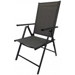 Καρέκλα Κήπου Μεταλλική Σπαστή - 56x68x106cm