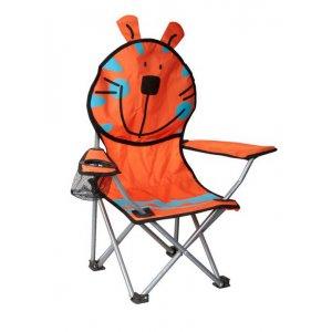 Πολυθρόνα Παιδική Πορτοκαλί Μεταλλική Polyester