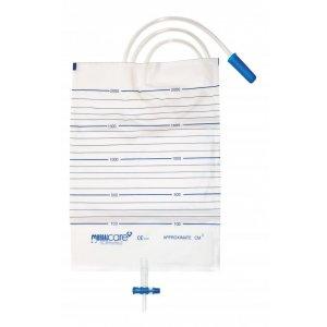 Ουροσυλλέκτης Κλίνης 2lt με Βαλβίδα Αδειάσματος T-valve - 0809544