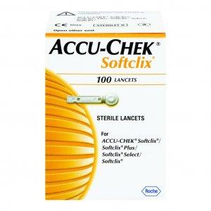 Βελόνες Μετρητή Accu-Chek Softclix (100τμχ)
