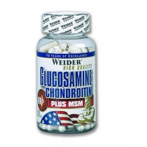 Weider Glucosamine-Chondroitin + MSM 120 κάψουλες - Σε 12 άτοκες δόσεις