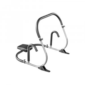 Φορητό μηχάνημα κοιλιακών Ab Roller (ασημί) - Διαστάσεις: 74x68x70cm