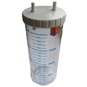 Δοχείο 2Lt συσκευών αναρρόφησης CA-MI και Hospivac - 0808101