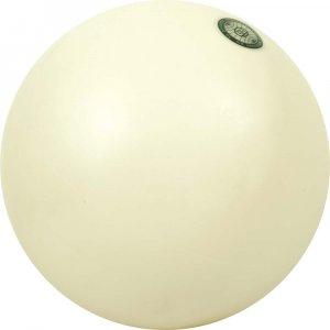Μπάλα ρυθμικής γυμναστικής, 19cm - Λευκή
