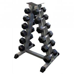Βάση Επαγγελματική με Αλτήρες Εξάγωνους 4 έως 15kg - 1187-4/15