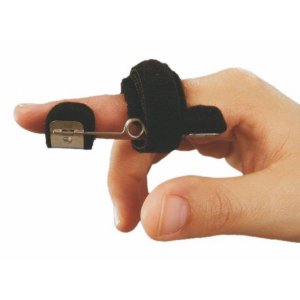 Νάρθηκας Έκτασης Μεσοφαλάγγειας Άρθρωσης Δακτύλου με Κεντρικό Εργονομικό Ελατήριο - PIP 6/A