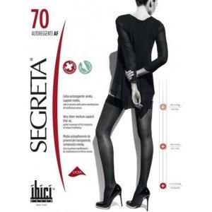 Κάλτσες  Ριζομηρίου Μέτριας Συμπίεσης Segreta 70Den Autoreggente Ibici