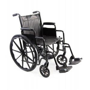 Αμαξίδιο Πτυσσόμενο, με Μεγάλους Συμπαγεις Τροχούς, Αφαιρούμενα Πλαϊνά και Υποπόδια 7504