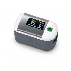 Παλμικό οξύμετρο δακτύλου για την μέτρηση του κορεσμού του οξυγόνου στο αίμα και των καρδιακών παλμών PM100