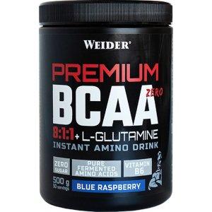 Weider Premium BCAA Zero 8:1:1 + L-Glutamine 500gr Blue Raspberry - Σε 12 άτοκες δόσεις