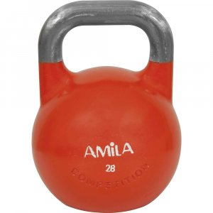 Kettlebell Aγωνιστικό 28kg Πορτοκαλί