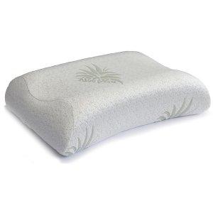 Μαξιλάρι Ιδανικό Για Ύπνο στο Πλάι με Μαξιλαροθήκη Aloe Vera 40x55x9-11cm AC-731