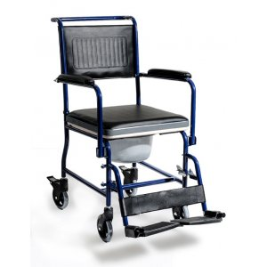 Αναπηρικό Αμαξίδιο Τουαλέτας-Μπάvιου AC-32 -  Μπλε