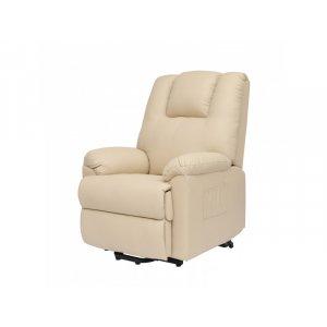 Πολυθρόνα Relax-Massage θερμαινόμενη με ηλεκτρική ανάκλιση AR17 Μπεζ  - Σε 12 άτοκες δόσεις