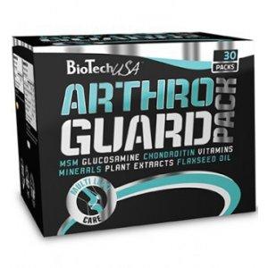 Arthro Guard Pack 30 σακουλάκια με 2 Ενισχυμένες Ταμπλέτες Γλυκοζαμίνης,Ταμπλέτα Βοτάνων,Κάψουλα Πολυβιταμίνης και Μαλακή Κάψουλα ελαίου λιναρόσπορου