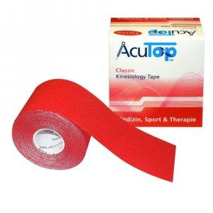 Επίδεσμος Κινησιοθεραπείας Acu Top Classic 5cmx5m - Κόκκινο