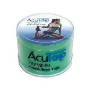 Επίδεσμος Κινησιοθεραπείας για Επαγγελματίες Αθλητές Acu Top Premium 5cmx5m - Πράσινο