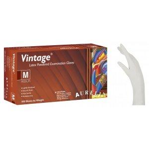 Γάντια Latex Κρεμ Vintage Ελαφρώς Πουδραρισμένα - 1000 τεμάχια