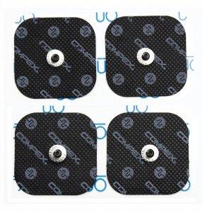 Ηλεκτρόδια Easy Snap Αποκλειστικά για Συσκευές Compex 5x5cm - 4 τμχ