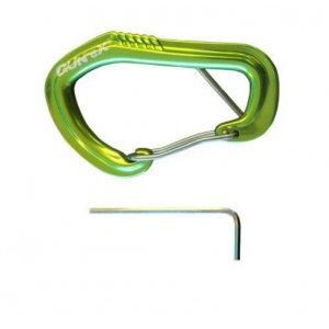 Μεταλλικός Γάντζος Ασφαλείας Locking Wire Carabiner