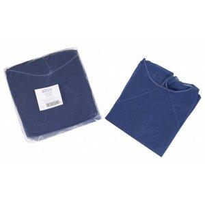 Εξεταστική μπλούζα σκούρο μπλε non woven (10 τμχ) - 121.002.DB.IS