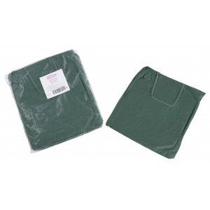 Εξεταστική μπλούζα πράσινο σκούρο non woven (10 τμχ) - 121.002.DG.IS