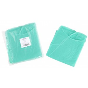 Εξεταστική μπλούζα πράσινη non woven (10 τμχ) - 121.002.IS