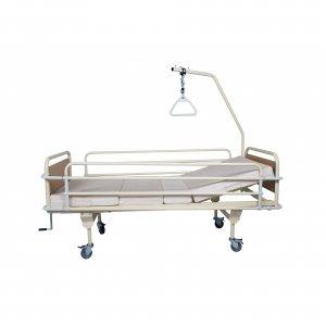 Νοσοκομειακό κρεβάτι βαρέως τύπου με ανύψωση πλάτης σταθερού ύψους  KN 301 - Σε 12 άτοκες δόσεις