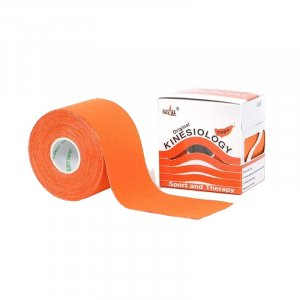 Kinesio Tape - Αυθεντικός Κορεάτικος Επίδεσμος Κινησιοθεραπείας 5cm x 5m - Πορτοκαλί