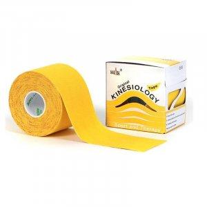 Kinesio Tape - Αυθεντικός Κορεάτικος Επίδεσμος Κινησιοθεραπείας 5cm x 5m - Κίτρινος